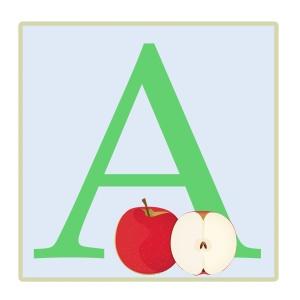 letter-a-apple-illustration